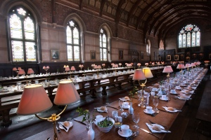 Main hall, Keble College, Oxford, UK