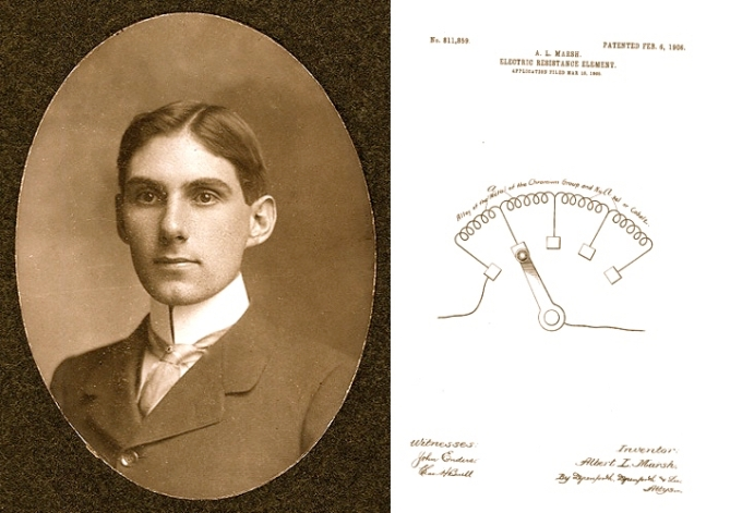 Albert L. Marsh and his patent for Chromel