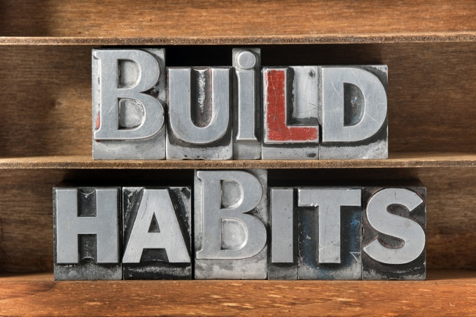build habits tray